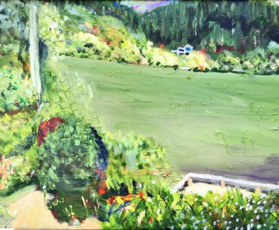 River in Green $100