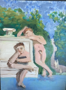 Classical scene with ipad $150